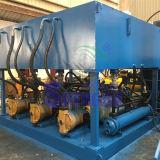 Tipo hidráulico aparas de aço do Push-out que empacotam a máquina