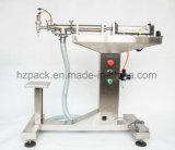 Cabezal único vertical de llenado de líquido máquina de llenado G1lyd1000ml