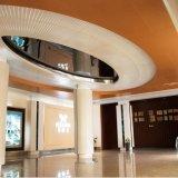 Plafond en aluminium de panneau de modèle spécial avec le GV pour la décoration intérieure