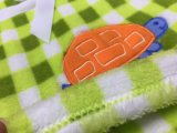 Coperta di corallo del bambino del panno morbido di Embroideried
