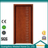 Prefinished Molded PVC MDF Interior / exterior porta de madeira