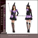 Сексуальный взрослый Costume Cosplay ведьмы Halloween партии для девушок женщин (TLZQ1516)