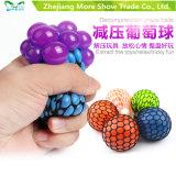 Anti brinquedos novos de Adhd do relevo do aperto do modo do autismo da esfera da uva do apaziguador do esforço