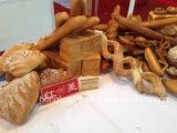 Fábrica de alimentos Linha de produção de biscoito de pão Forno de túnel elétrico
