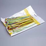 cintas plásticas de 15 '' 50lbs brancas/do preto/cor nylon