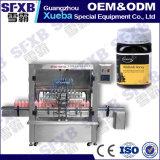 Máquina de embotellado automática conducida neumática de la botella del tarro de la miel de la abeja Sfqg-500-8