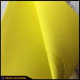 Le cuir synthétique d'unité centrale avec l'effet changeant thermo de couleur pour le cahier couvre Hx-0711