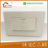 Высокое качество белый ПК большой колокол двери кнопка переключения