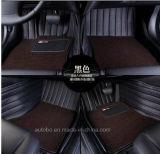 Tapijt van de Kunstleer van pvc van de Mat van de auto 3D met XPE