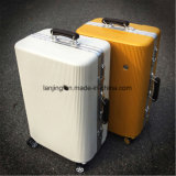 Aluminium-ABS Laufkatze-Kasten-Zoll-Kombinationsschloss-Arbeitsweg-Gepäck-Koffer