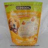 Мешок печатание пластичный раговорного жанра упаковывая для кошачьей еды собаки