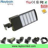 セリウムが付いている5years保証250W Shoeboxの駐車場LEDの道ライト