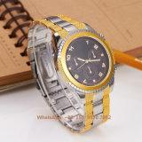 Het Horloge van de modieuze Slimme Mensen van het Kwarts met de Riem Fs575 van het Roestvrij staal