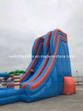 水公園の遊園地の運動場の子供および大人の膨脹可能な水大きいスライドのための巨大で膨脹可能な水スライド