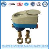 Dn15mm de Vooruitbetaalde Meter van het Water voor de Meter van het Water van het Huishouden van de Kaart van rf