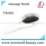 Escova de cabelo USB com função de massagem de óleo