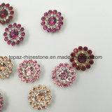 2017 het Nieuwe naait Plaatsen van de Klauw van de Bloem van de Kristallen Swaro van de Aankomst In het groot 14mm Losse op de Parels van het Glas (tP-Rode ronde)