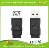 USB3.0 Type de câble plat femelle à femelle