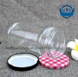 740ml качество еды прозрачное, цилиндрический, широкий опарник стекла хранения чонсервных банк кофеего рта