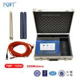 500m Nature Electric Resistivity sur le terrain Underground Water Test Instrument
