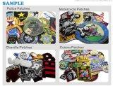 Hochwertiger Stickerei-Medaillen-Kleid-Kennsatz