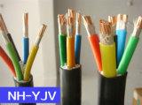 Nhyjv огнезащитное XLPE изолировало силовой кабель обшитый PVC медный