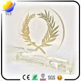 Трофей горячие продавая трофей сплава цинка металла и смолаа ABS и акриловый трофей и трофей кристалла