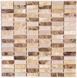 建築材料の単連続写真の壁のタイル、モザイク・ガラスのタイル