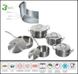 3つの層の誘導の炊事道具Sc583