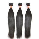 Extensions 100% droites péruviennes de cheveux humains de Vierge