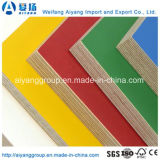Твердые цветная бумага водонепроницаемый экологических меламина фанеры в шикарной мебели