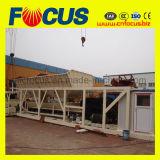 Commande automatique de bétonnage Mobile usine, usine de mélange de béton Yhzs75