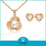 El encanto de perla chapado en oro Joyería nupcial (J-0044)