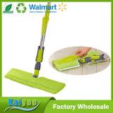 Mopa de microfibras para limpeza do chão Flat com pastilhas de esfregona Premium + Panos de microfibra