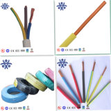Conductor de aislamiento de PVC flexible cable suave de la norma IEC RV de 1,5 mm2 4mm2 Single Core