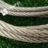 高品質によって電流を通される鋼線ロープ
