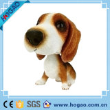Polyresin犬はへまをするホーム装飾(HOGAO008)のためのヘッド置物について