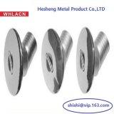Hardware marina de la guarnición de bisagra de la cubierta del acero inoxidable (bastidor de inversión)