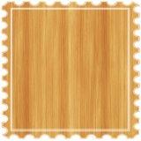 Relieve suelo laminado de madera de teca de la Junta de patrón para el hogar decoración piso