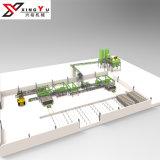 Vollautomatischer Partition-Betonmauer-Panel-Produktionszweig