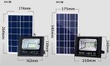 Segurança ao ar livre do jardim claro solar da lâmpada do ponto da inundação do sensor de 196 diodos emissores de luz impermeável