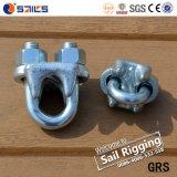 La gota de la fábrica de China forjó las abrazaderas de cuerda de alambre