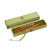 Rectángulo de empaquetado del regalo de papel de la joyería del rectángulo para el brazalete, collar