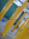 로더 유압 팔 실린더, 붐 실린더, 굴착기 Dozer 기계 부속품을%s 송유관을%s 가진 물통 실린더