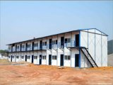 La struttura d'acciaio ha fatto le case prefabbricate parete isolate