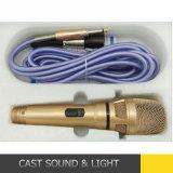 La voce libera ha collegato/microfono dinamico Corded di karaoke con il cavo di 5m