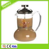 Caffè/tè caldi della pressa del francese di vendita personalizzato
