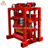 Bloque semiautomático del sólido y de la depresión que hace máquina Qt4-35 el bloque hueco concreto manual que hace la línea de la máquina