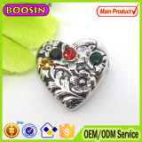 Brooch magnetico esportatore europeo del cuore di cristallo 2015