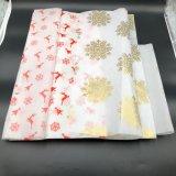 Papel de tejido sólido de empaquetado de los papeles del rectángulo de regalo